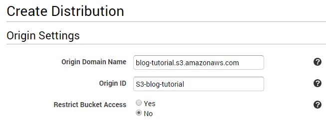 CDN Amazon Cloud Front
