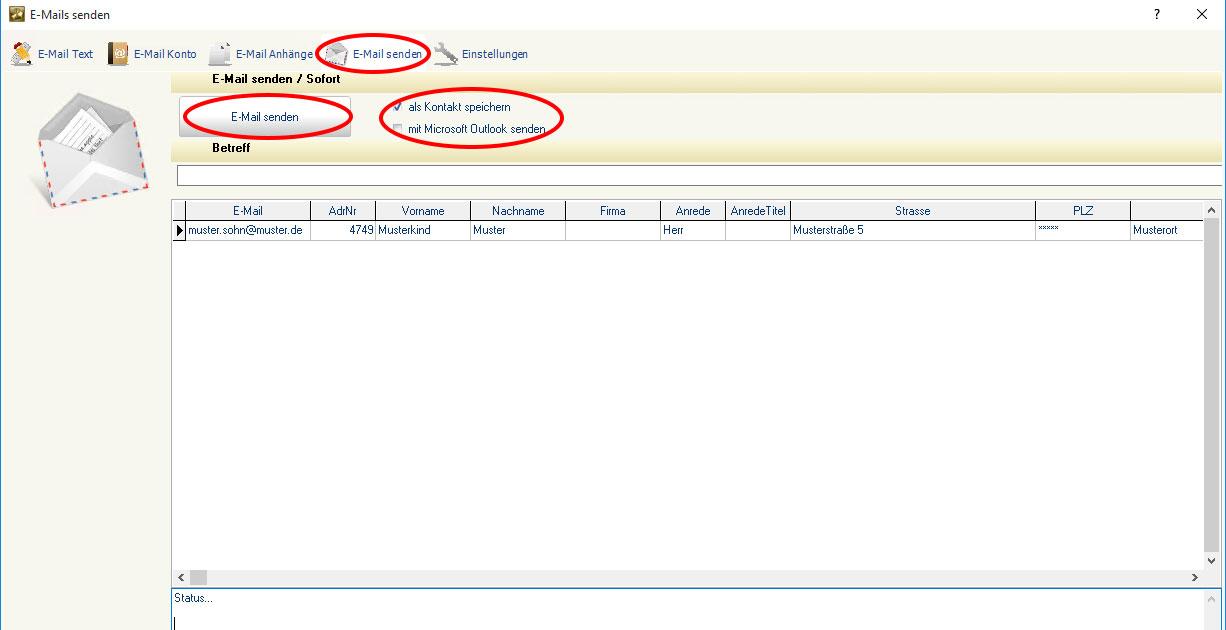 Lexware Mitglieder Per Serien E Mail Kontaktieren Wiki